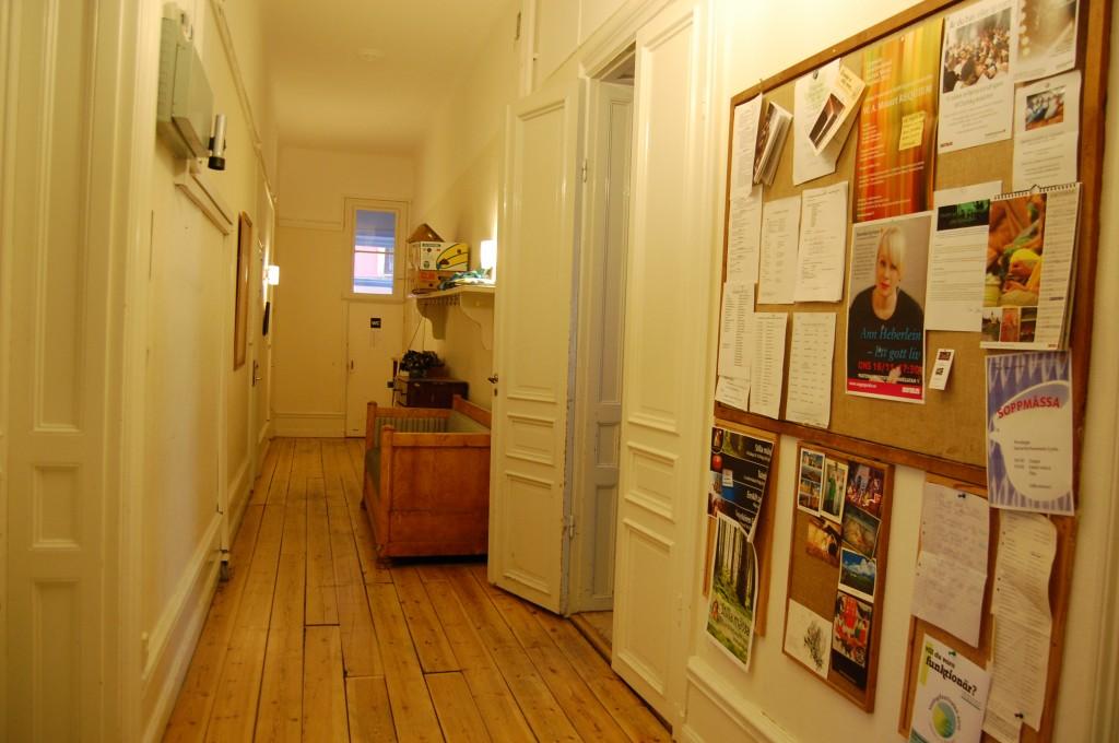 Korridoren på entréplanet